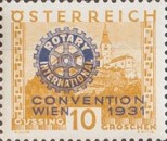 [Rotary International Convention in Vienna - Stamps of 1929 Overprinted, type DE]
