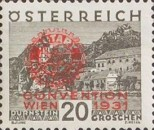 [Rotary International Convention in Vienna - Stamps of 1929 Overprinted, type DE1]