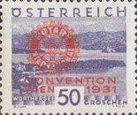 [Rotary International Convention in Vienna - Stamps of 1929 Overprinted, type DE4]
