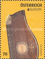[EUROPA Stamps - Musical Instruments, Typ DEB]