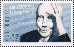 [The 150th Anniversary of the Birth of Richard Strauss, 1864-1949, Typ DEL]