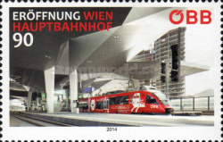 [Opening of the Vienna Central Station, Typ DFD]