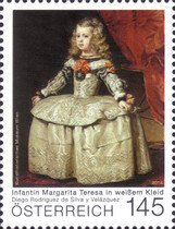 [Paintings - The Infanta Margarita in a White Dress by Diego Valázquez, 1599-1660, Typ DFG]