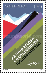 [The 100th Anniversary of the Birth of Arthur Zelger, 1914-2004, Typ DFQ]