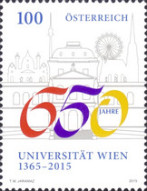 [The 650th Anniversary of the University of Vienna, type DGT]