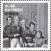 [The 200th Anniversary of The Congress of Vienna, type DHF]