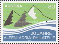 [The 20th Anniversary of the Alpen-Adria-Philatelie, Typ DHP]