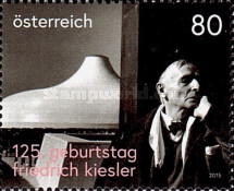 [The 125th Anniversary of the Birth of  Friedrich Kiesler, 1890-1965, type DHS]
