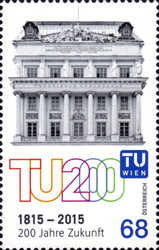[The 200th Anniversary of the Vienna University of Technology, type DHZ]