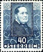 [Charity Stamps - Austrian Poets, type DI]