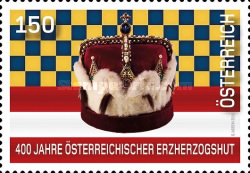 [The 400th Anniversary of the Austrian Archducal Hat, Typ DIN]
