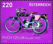 [Motorcycles - Puch 125 LM, 1923, Typ DIT]