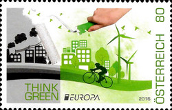 [EUROPA Stamps - Think Green, Typ DJD]