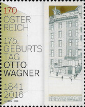 [The 175th Anniversary of the Birth of Otto Wagner, 1841-1918, Typ DJN]