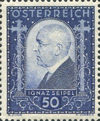 [Ignaz Seipel Charity Stamp, Typ DL]