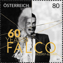 [The 60th Anniversary of the Birth of Falco, 1957-1998, Typ DLI]