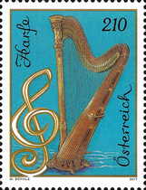 [Musical Instruments - Harp, Typ DLJ]