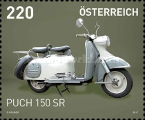 [Motorcycles - Puch 150 SR, Typ DLZ]