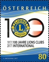 [The 100th Anniversary of Lions Clubs International, Typ DMA]