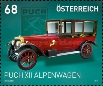 [Classic Cars -  Puch XII Alpenwagen, 1919, Typ DMB]