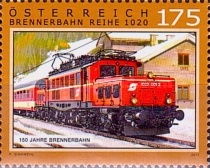[The 150th Anniversary of the Brenner Railway, Typ DMI]