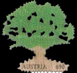 [The 20th Anniversary of the Austrian Federal Forests - Oak Tree, Typ DMJ]