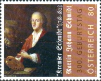 [The 300th Anniversary of the Birth of Kremser Schmidt, 1718-1801, Typ DNL]