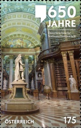 [The 650th Anniversary of the Austrian National Library, Typ DNP]