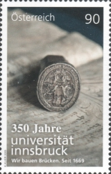 [The 350th Anniversary of the University of Innsbruck, type DPO]