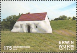 [Contemporary Art in Austria - Fat House by Erwin Wurm, type DPS]