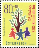 [The 70th Anniversary of the SOS Children's Village Austria, type DPU]