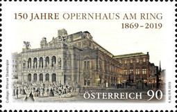 [The 150th Anniversary of the Opera House on the Ring, type DPV]