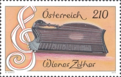 [Musical Instruments - Viennese Zither, type DPY]