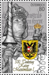 [The 500th Anniversary of the Death of Emperor Maximilian I, 1459-1519, type DQC]