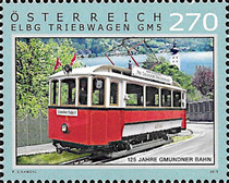 [The 125th Anniversary of the Gmunden Tramway, type DQV]