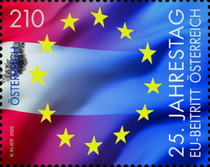 [The 25th Anniversary of Austria's Membership to the EU, type DRT]