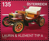 [Classic Cars - Laurin & Klement Typ A, type DRW]