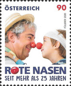 [The 25th Anniversary of the Red Noses Clowndoctors, Typ DRY]