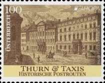 [EUROPA Stamp - Ancient Postal Routes, Typ DSZ]