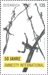 [Th 50th Anniversary of Amnesty International Ôsterreich, Typ DTB]