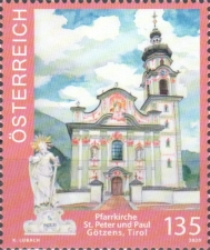 [Churches in Austria - Pilgrimage Church of Götzens, Typ DTE]