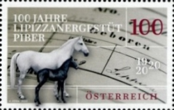[The 100th Anniversary of the Lipizzaner Stud Farm, Piber, Typ DTF]