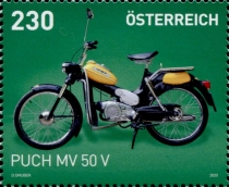 [Classic Motorcycles - Puch MV 50 V, type DTJ]