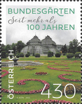 [The 100th Anniversary of the Austrian Federal Gardens, type DVE]