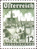 [Catholic Congress Charity Stamp, type DX]