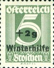 [Winter Charity Overprint, Typ ED]