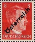 [Adolf Hitler, 1889-1945 - German Empire Postage Stamps Overprinted