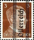 [Adolf Hitler,1889-1945 - Graz Overprint On German Empire Stamps, type HT]