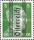 [Adolf Hitler,1889-1945 - Graz Overprint On German Empire Stamps, type HV]