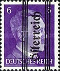 [Adolf Hitler,1889-1945 - Graz Overprint On German Empire Stamps, type HW]